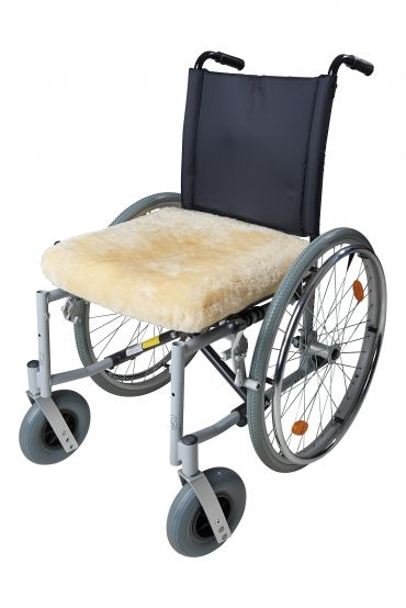 Sitzkissen Rollstuhl MEMORY 42x42x5cm natur
