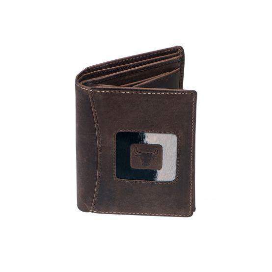 Bullhide Bifold Wallet, Tall