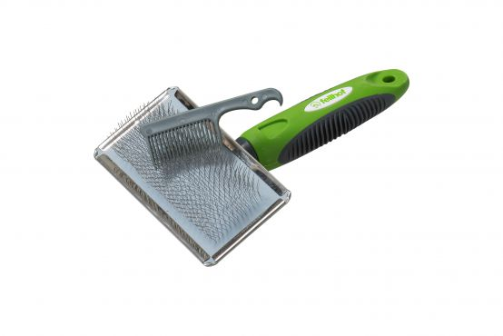 Fur Brush with Cleaning Comb