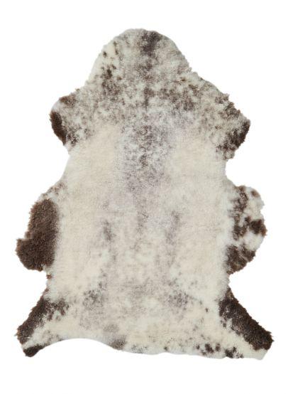 Lammfell meliert geschoren - hell