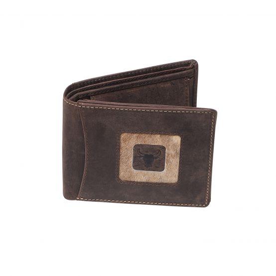 Bullhide Bifold Wallet, Long