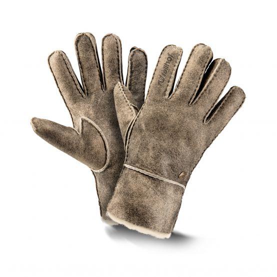 Lammfell-Fingerhandschuhe Trend