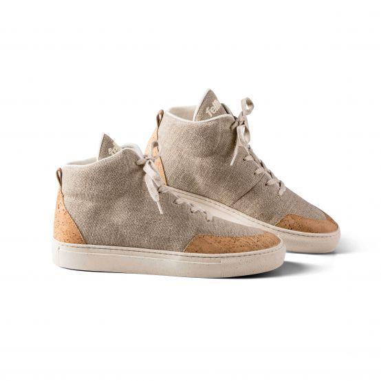 Havanna High Trainers – Ladies Cork Shoes