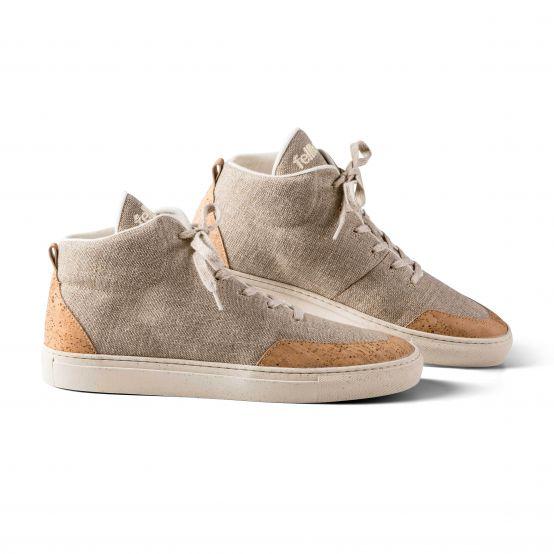 Sneaker Havanna High – Kork Schuhe für Herren