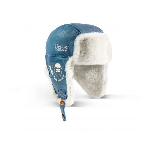 SHAUN Lambskin Baby Hat